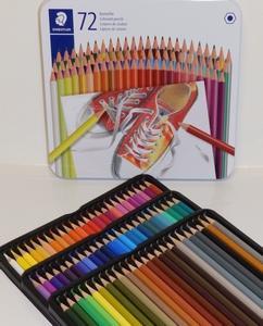 Kleurpotloden 72 kleuren