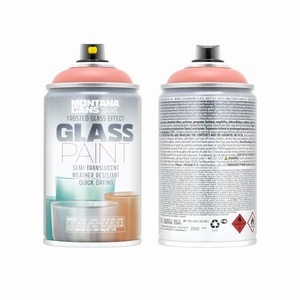 Glass Paint Coral Red
