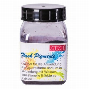 flash pigment roodbruin