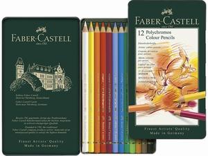 Faber-Castell polychromos 12 kleuren