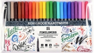 Fineliner set 24 kleuren