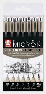 Micron finelener + Brushpen