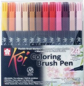 Koi brushpen 24 kleuren