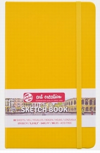 Dummy-schetsboek Golden Yellow