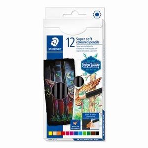 Kleurpotloden Soft 12 kleuren