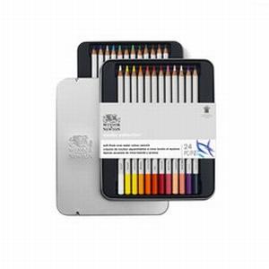 Aquarelpotloden W&N 24 kleuren
