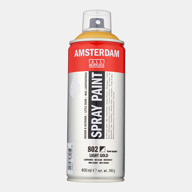 Amsterdam spray 400ml lichtgoud