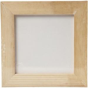 Canvasboard met lijst