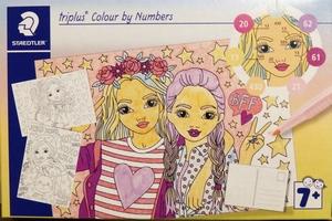Kleuren op nummer Vriendinnen