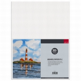 Aquarelpapier 20vel