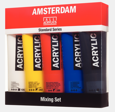Amsterdam acrylverf 5x120ml