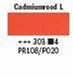 cadmium rood licht<br />40ml