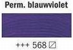 Permanent blauw violet<br />40 ml