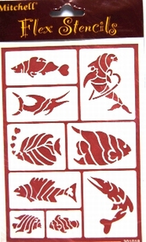 sjabloon vissen