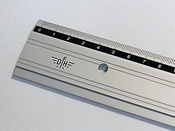 Liniaal aluminium