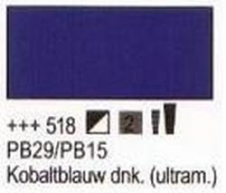 Kobaltblauw donker