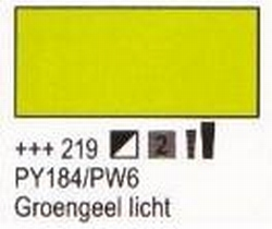 Groengeel licht<br />75 ml tube