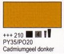 Cadmiumgeel-donker<br />75 ml tube