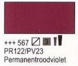 Permanent rood violet  75 ml tube