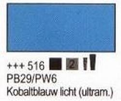 Kobaltblauw licht  75 ml tube