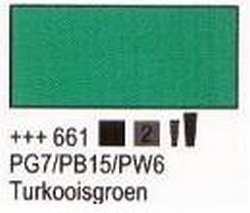 Turkooisgroen<br />75 ml tube