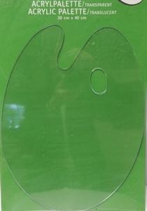 Schilderspalet kunststof ovaal<br />per stuk