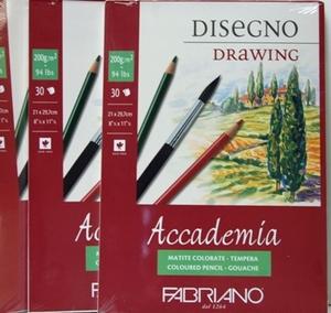 Fabriano | tekenblok A4<br />per stuk