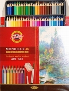 Aquarelpotloden 48 kleuren