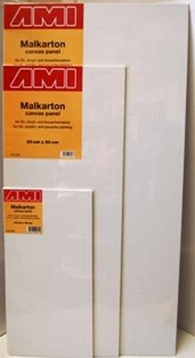 Canvasboard langwerpig 15x30cm
