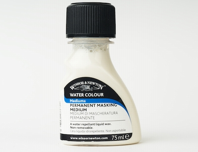 Permanente maskeervloiestof Winsor&Newton  75 ml