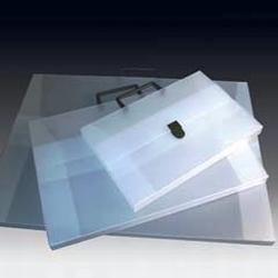 Tekenkoffer transparant  per stuk