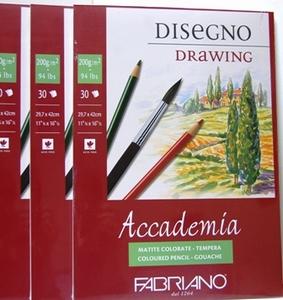 Fabriano | tekenblok A3<br />per stuk