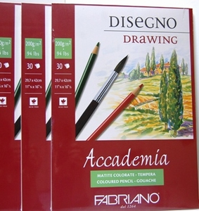 Fabriano   tekenblok A3
