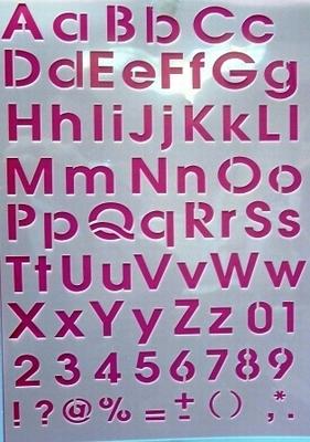 Lettersjabloon 022
