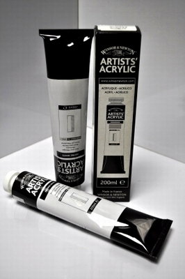 Artist Acrylverf MIXING wit