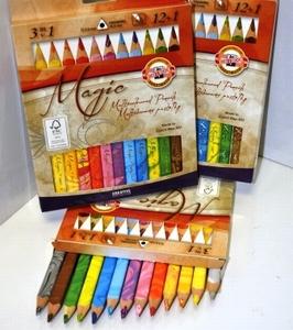 MAGIC 3 kleurenpotloden