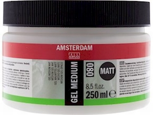 Amsterdam gel medium matt<br />250 ml