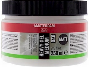 Amsterdam heavy gel medium matt