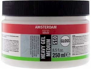 Amsterdam heavy gel medium glans