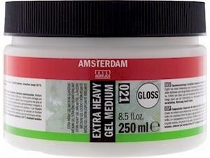 Amsterdam Extra heavy gel medium Glans<br />250 ml