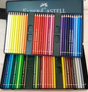 Faber Castell-polychromos 60 kleuren