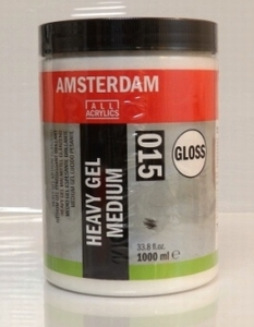 Amsterdam heavy gel medium Glans<br />1000ml