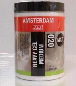 Amsterdam heavy gel medium Matt<br />1000ml
