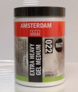 Amsterdam Extra heavy gel medium Matt<br />1000ml