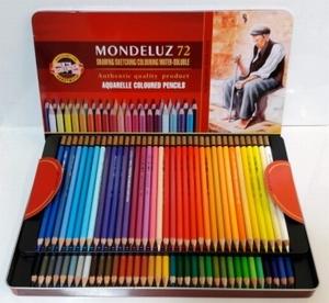 Aquarelpotloden Mondeluz gold-72