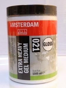 Amsterdam extra heavy gel medium glans<br />1000ml