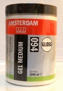 Amsterdam gel medium glans <br />1000ml