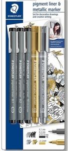 Fineliner+ Metallic marker