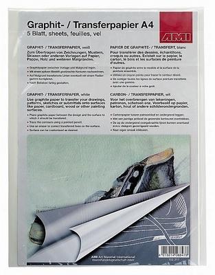 Grafietpapier Wit - A4