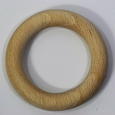 Houten ring 56x9 mm